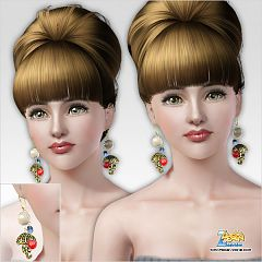 Sims 3 earrings, jewelry, accessories, fashion