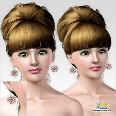 Sims 3 earrings, accessories, jewelry
