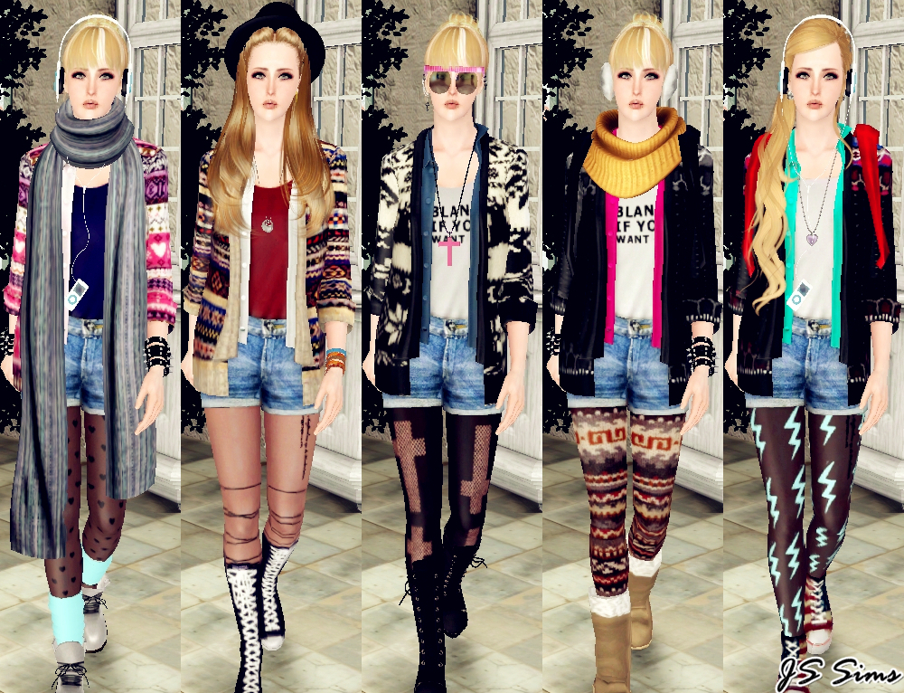 Liana sims2 clothes for your sims free downloads to fashion up.
