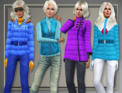 Sims 3 Seasons Outfits Sims 3 Outfit Fashion