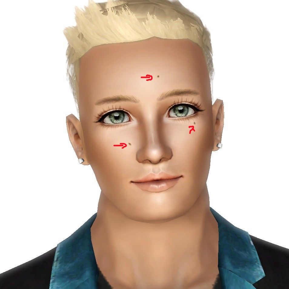 The Sims Resource - TSR Delicate Real Freckles by Pralinesims ...