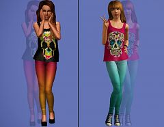 Sims 3 clothing, outfit, fashion