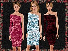 Sims 3 dress, clothing, fashion
