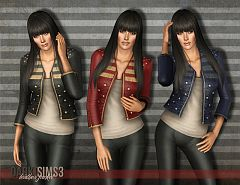 Sims 3 jacket, top, fashion, clothing, sims 3