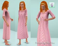 Sims 3 dress, maternity, clothing
