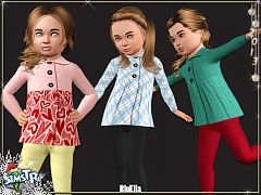 Sims 3 outfit, clothes, sims, toddler