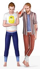 Sims 3 pants, long Johns, clothings