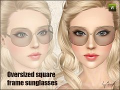 Sims 3 glasses, sunglasses, frames