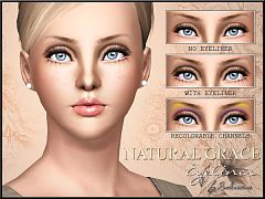 Sims 3 eye, makeup, eyeliner, cosmetics