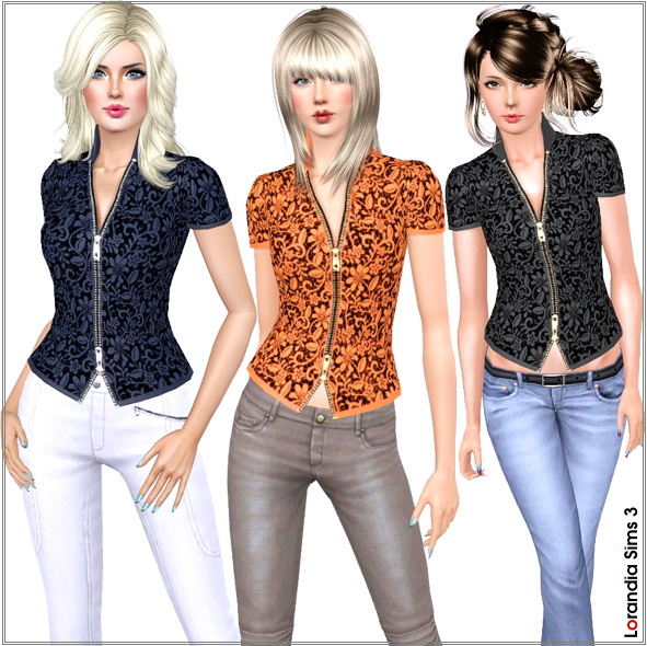 Блузки Для Симс 3
