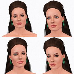 17 angelina jolie by flajko tags celebrity angelina jolie sims