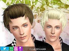 Sims 3 hair, hairstyle, female, male, sims3, sims 3