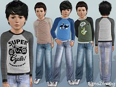 Sims 3 cloth, clothing, outfit, fashion