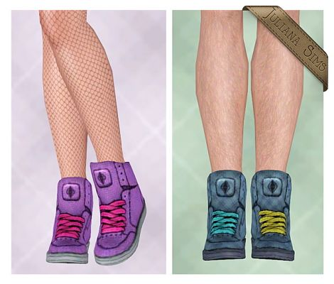 Sims 3 shoes, sneakers, footwear
