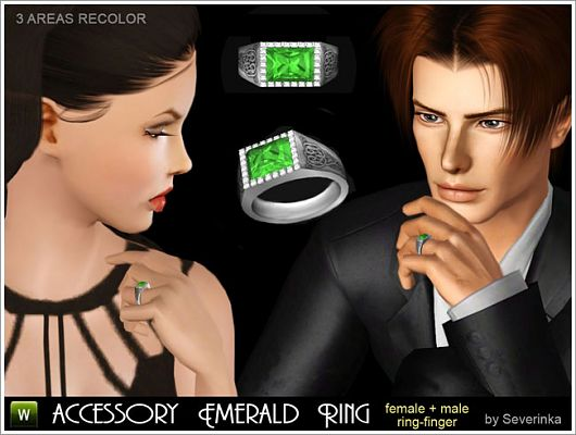 Sims 3 ring, jewelry, accessory