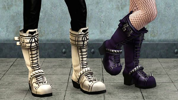 Sims 3 shoes, boots, fashion, female, male