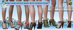 Sims 3 shoes, boots, footwear