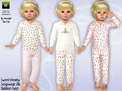 Sims 3 clothing, sleepwear, fahion, toddler