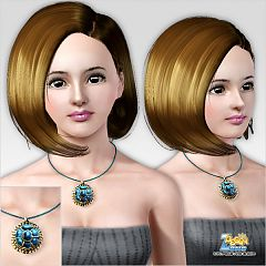 Sims 3 necklace, female, accessories