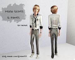 Sims 3 fashion, clothing, clothes, sims, men