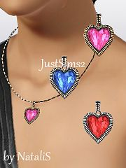 Sims 3 jewelry, necklace, heart