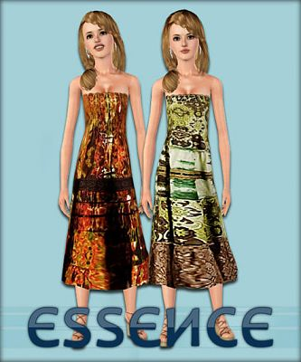 Sims 3 dresses, clothing, fashion