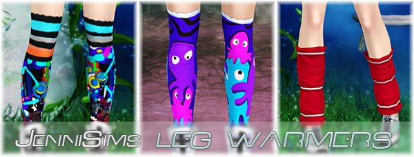 Sims 3 leg warmers, accssory