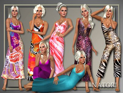Sims 3 lingerie, sleepwear, outfit, fashion, female, sims3