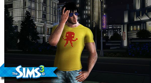 Sims 3 t-shirt, tee, fashion