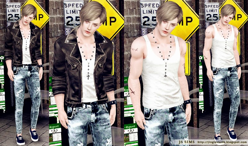 the sims 3 street clothes