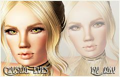 Sims 3 eyes, genetics, female, sims3