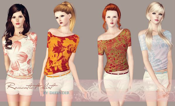 Sims 3 outfit, top, clothing, female, sims3