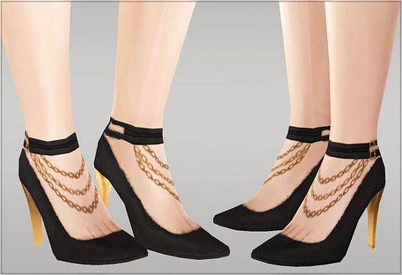 Sims 3 shoes, footwear, toe
