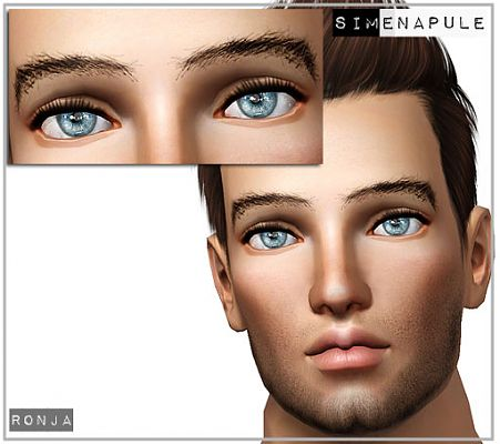 Sims 3 eye, eyes, brows