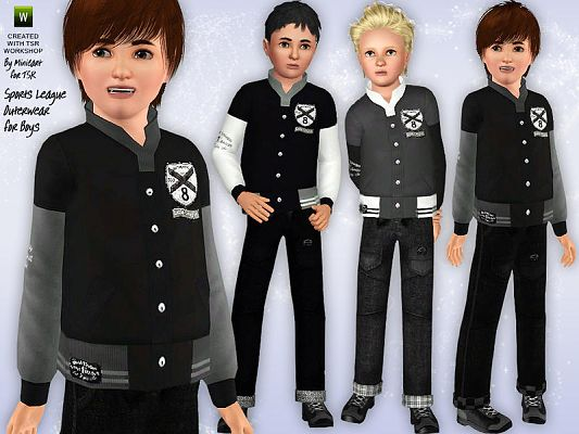 Sims 3 outfit, clothing, child, sims3