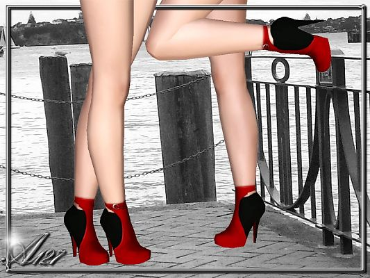 Sims 3 shoes, boots, straps