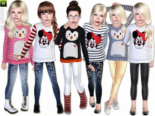 Sims 3 cloth, clothing, outfit, girls