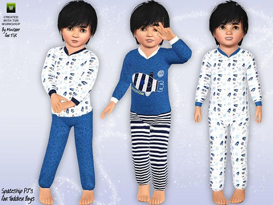 Sims 3 sleepwear, pj, pajamas