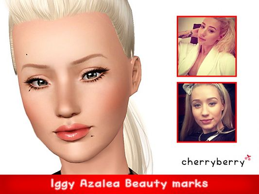 Sims 3 spot, beauty mark