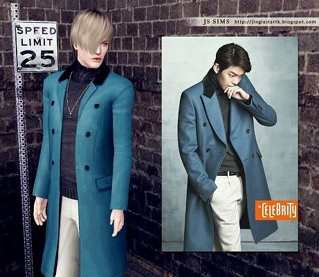 Sims 3 coat, outfit, clothing