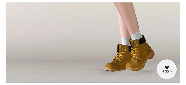 Sims 3 boots, shoes, female, sims3