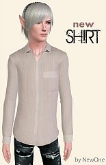 Sims 3 shirt, clothing, fashion, male