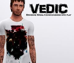 Sims 3 clothing, fashion, t shirt, male