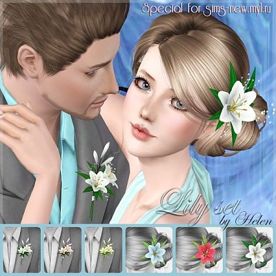Sims 3 accessory, objects, hair accessory
