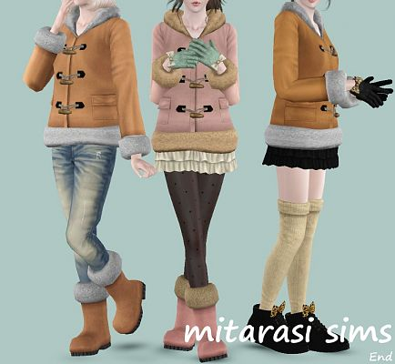 Sims 3 outfit, clothing, fashion, female, shoes, gloves, sims3