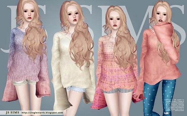 Sims 3 sweater, outfit, top, clothing, fashion, female