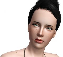 Sims 3 makeup, beauty mark