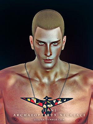 Sims 3 accessory, necklace