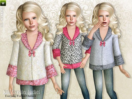 Sims 3 jacket, clothing, females