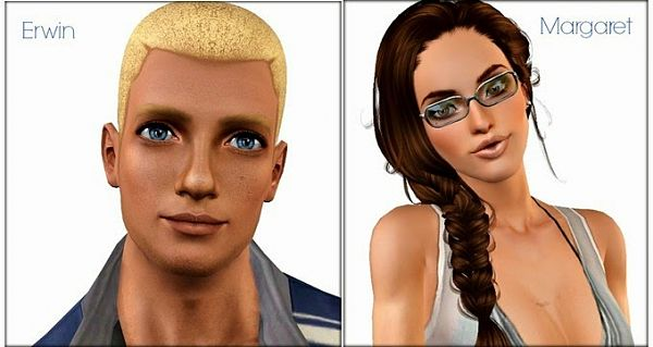 Sims 3 sim, sims, model, sims 3, female, male